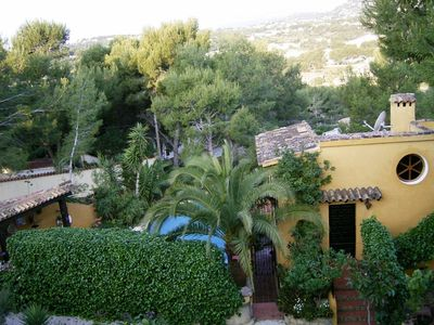 Photo for Romantic holiday home to 5 pers. Private pool 1. Beach about 1km to Moraira