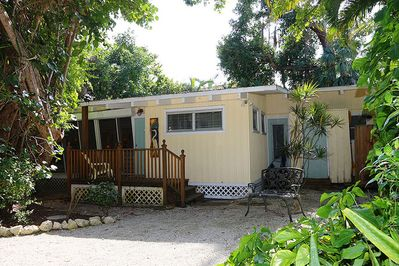 Only 530 feet to the beach, this home is located on Wightman Lane in the Village of Captiva. Captiva Hampton is a two bedroom/two bathroom Olde-Florida cottage with many windows and a deck.