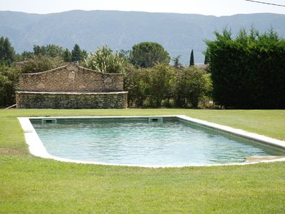 Photo for In PROVENCE, LUBERON AT Face, A LITTLE PIECE OF PARADISE, PRIVATE VILLA FOR 6 Pers