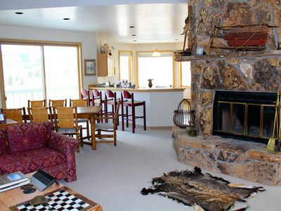 Photo for Convenient Ski In / Ski Out House on Anthracite Drive in Mount Crested Butte