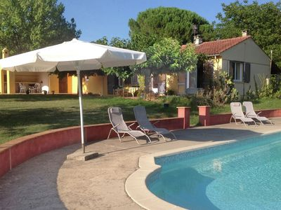 Photo for Comfortable detached holiday home with large garden of around 1 ha and private pool