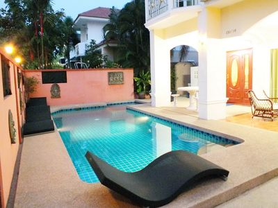Photo for Good Value Spacious 4 Bedroom Villa With Private Pool Walking Street 10 Min Away