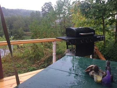 Deck & View from RV