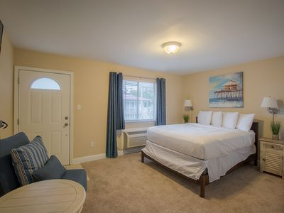 Photo for Comfortable Studio near Beach w/ WiFi, Parking & Complex Pool Access