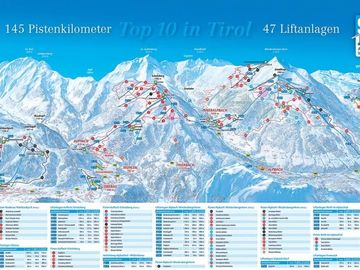 Ganzeralm Ski Lift, Bramberg am Wildkogel, Austria