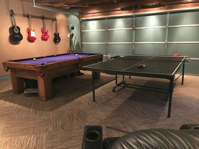 The game room is what our guests like best