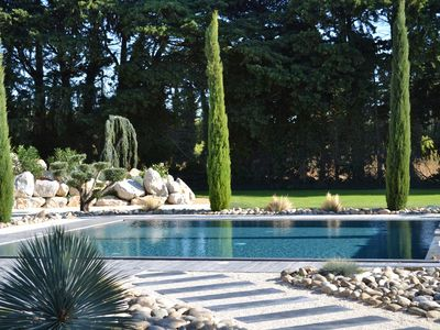 Photo for MAGNIFICENT PROPERTY IN THE COUNTRYSIDE IN THE HEART OF PROVENCE WITH PARK AND POOL