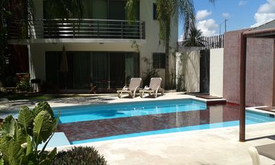 Photo for Feel @ Home - Apartment - 2 bedrooms & 2 bathrooms, pool & garden...