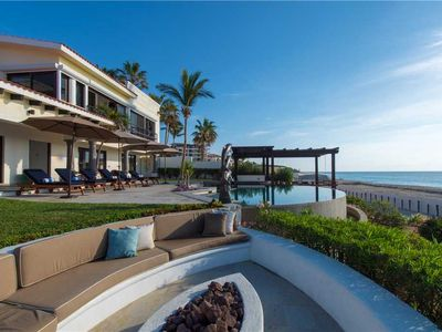 Photo for Villa Delfines - Beautiful Beachfront Villa Close to Cabo Real Golf