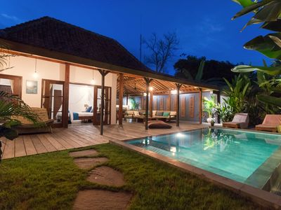 Photo for New wooden villa joglo in Canggu