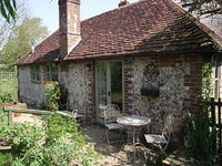 Lovely little cottage with our own private garden.