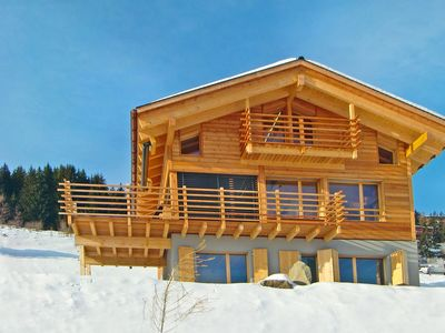 Photo for Chalet with Spectacular View of Mountains in Hérémence
