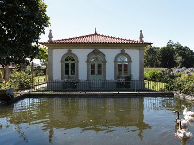 Photo for Enjoy quiet time in a centuries-old cottage near Porto and the ocean.
