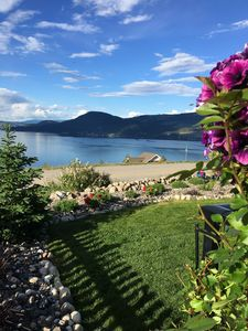 Photo for Relax in Style at Scottage Thyme ~ a charming cottage overlooking Lake Okanagan