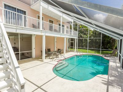 Photo for 4BR w/ Private Pool & Lanai, Short Walk to Fort Myers Beach & Estero Bay