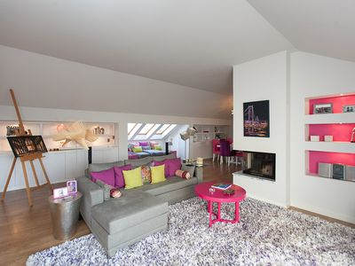 Photo for Charming penthouse with private terrace in the center of Lisbon