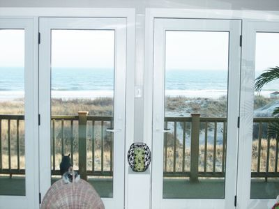"""""""Spectacular Beachfront Townhouse with Ocean Views"""""""
