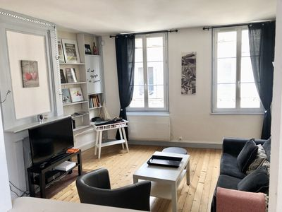 Photo for charming apartment in downtown Honfleur