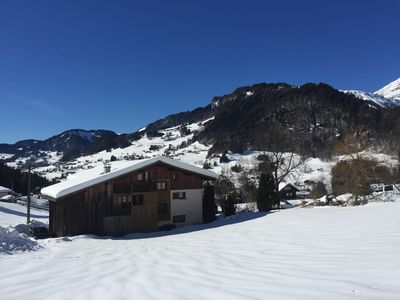 Photo for Apartment in a chalet at 1,5km from the ski slopes