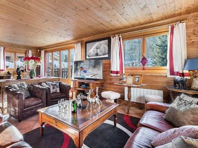 Photo for Chalet Praz champion : Welcoming chalet with South facing terrace