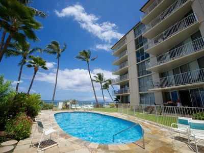 Photo for Lovely 2 Bedroom/2 Bath Unit On The Ocean Between Two Great Beaches