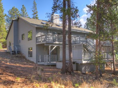 Photo for Peaceful Sunriver Home w/ Hot Tub, SHARC Passes, Fireplace, Wifi & Bikes!