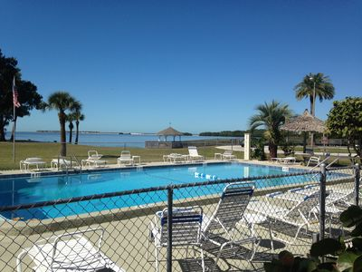 Photo for Gaze at the Gulf of Mexico from this Immaculate 3 Bedroom Poolside Condo