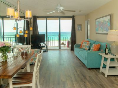 Photo for Amazing Direct Beach Front Adorable Nautilus 1302!