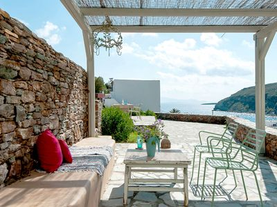 Photo for Stunning Villa for 7 in Kythnos