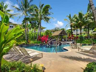 Photo for Beautiful and spacious 3 Bedroom Air Conditioned Condo on Kauai's North Shore
