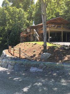 Photo for Reach For the Stars in this beautiful cabin with breathtaking views
