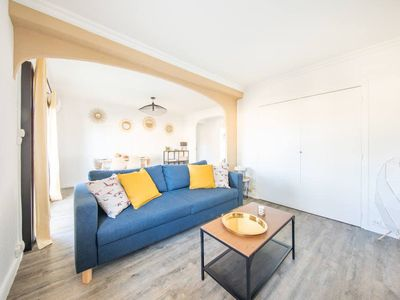 Photo for Bright apart with terrace in the pines (near the beach and city center)