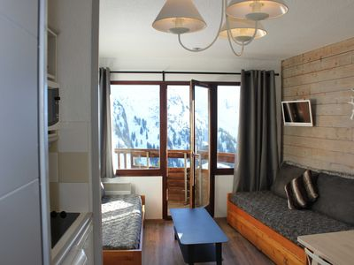 Photo for Avoriaz, 6th floor, south facing apartment 4/5 people