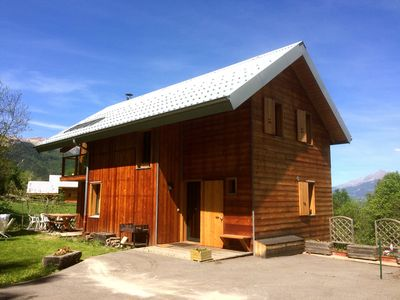 Photo for Chalet 6-12 peoples,  South of France, Crots near Embrun Serre Ponçon Lake