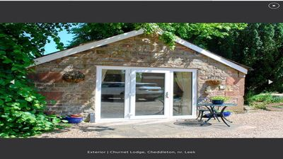 Photo for Churnet lodge in the Churnet valley Cheddleton, near leek and Alton towers