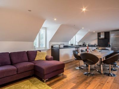Photo for Padstow Barn Conversion with Sea Views