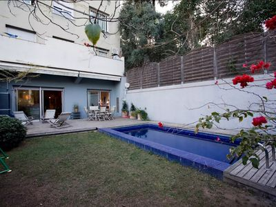 Photo for FAMILY APARTMENT WITH PRIVATE GARDEN AND SWIMMING POOL