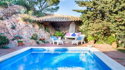 Photo for House - 3 Bedrooms with Pool and Sea views - 108118