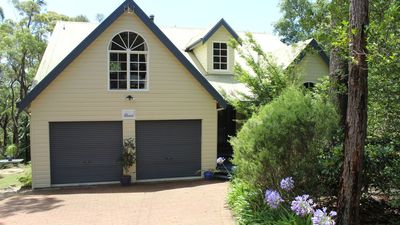 Photo for Four Seasons - Blue Mountains Home - Private Bushland with Spa & Fire place