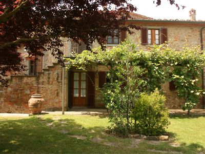 Photo for One bedroom Apartment, sleeps 2 in Podere Viti with Pool