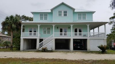 Photo for Beautiful remodeled 3 bedroom, 3 1/2 bath home three blocks from beach.