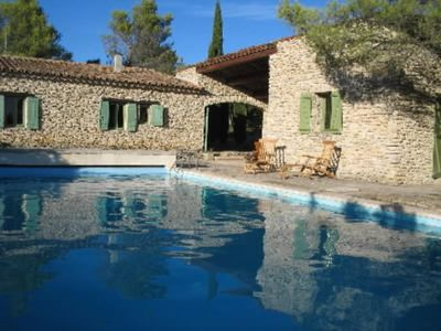 Photo for House in stones on 1 hectare of protected environment-view on the Luberon