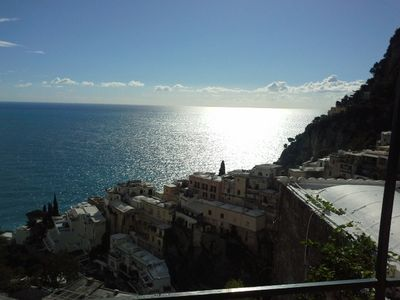 Photo for Central house amazing view in Positano - A636
