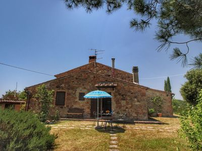 Photo for Beautiful Farmhouse in Casole d'Elsa with Private Garden