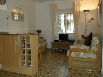 Photo for 2 Bed Apartment in Denia with WIFI, 2 Shared Pools,  5 minutes walk to the beac