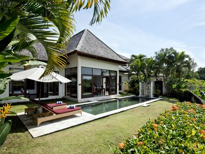 Photo for Private Pool Villa 3 Authentic Tabanan