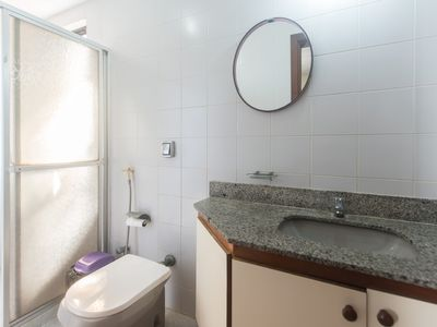 Photo for Duplex Penthouse two blocks from Praia do Forte with 4 bedrooms