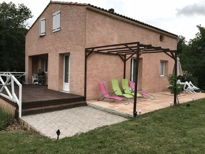 Photo for Pretty property in southern France between Carcassonne and Perpignan, ideal family