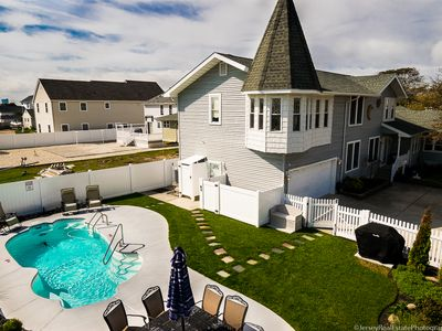 Photo for *Ocean Oasis* Walk to Beach. Heated Pool. Private Yard. 5 Miles to Atlantic City