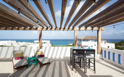 Photo for New New New + spectacular views from private rooftop at Punta Sur Isla Mujeres